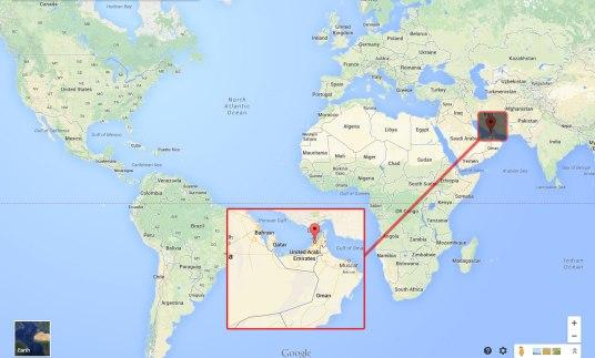 where-is-dubai-located