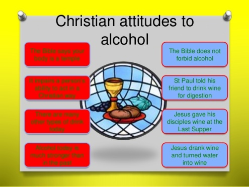 Christianity alcohol