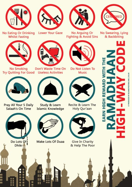Ramadhaan-highway-Code-Dos-And-Donts