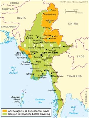 FCO 303 - Bangladesh Travel Advice [WEB]