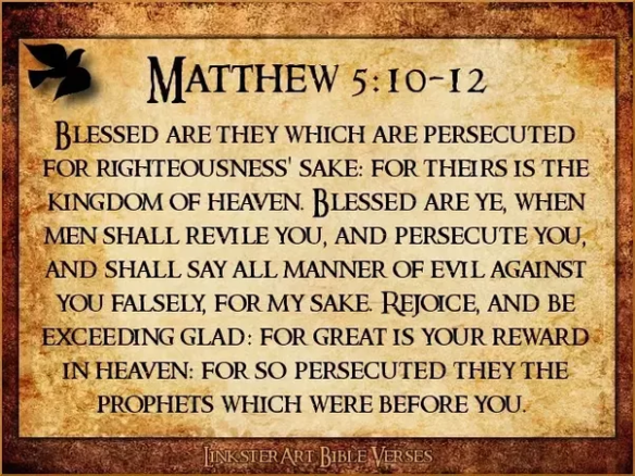 Matthew Persecution