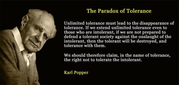 paradoxoftolerance Karl Popper