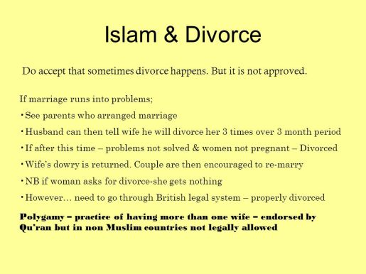 Islam+&+Divorce+Do+accept+that+sometimes+divorce+happens.+But+it+is+not+approved.+If+marriage+runs+into+problems;